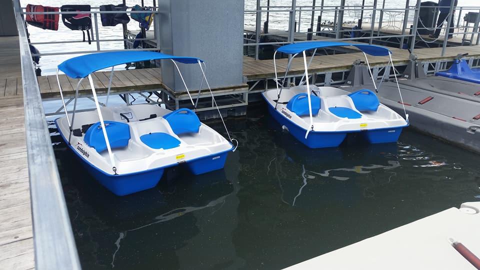 Quail Cove Resort Pedal Boats